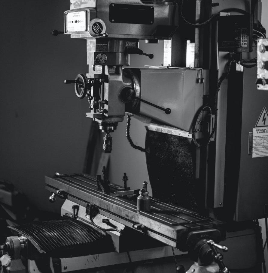 a Knee Mill machine